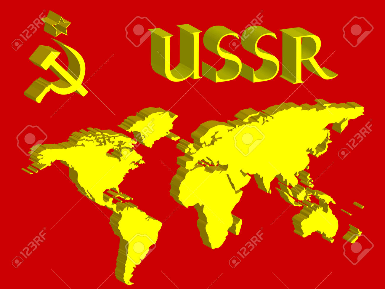 Ussr symbol and world map abstract art illustration royalty free ussr symbol and world map abstract art illustration stock vector 6690640 gumiabroncs Gallery