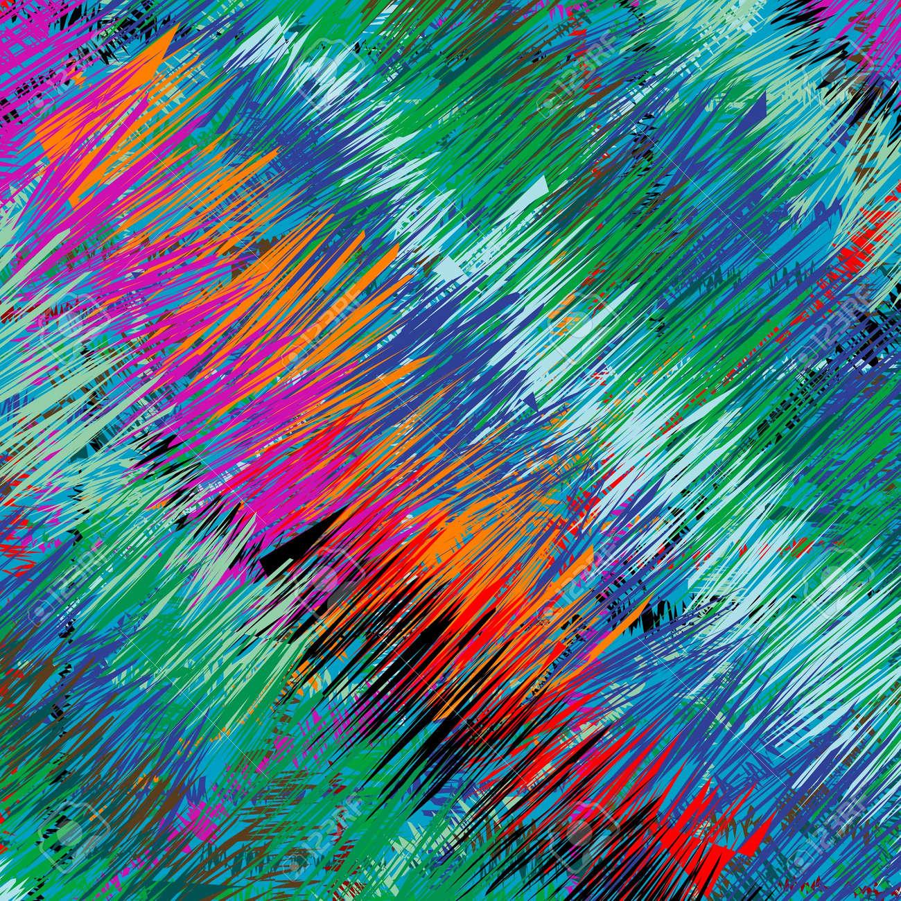 colored grass, art illustration Stock Illustration - 7336426