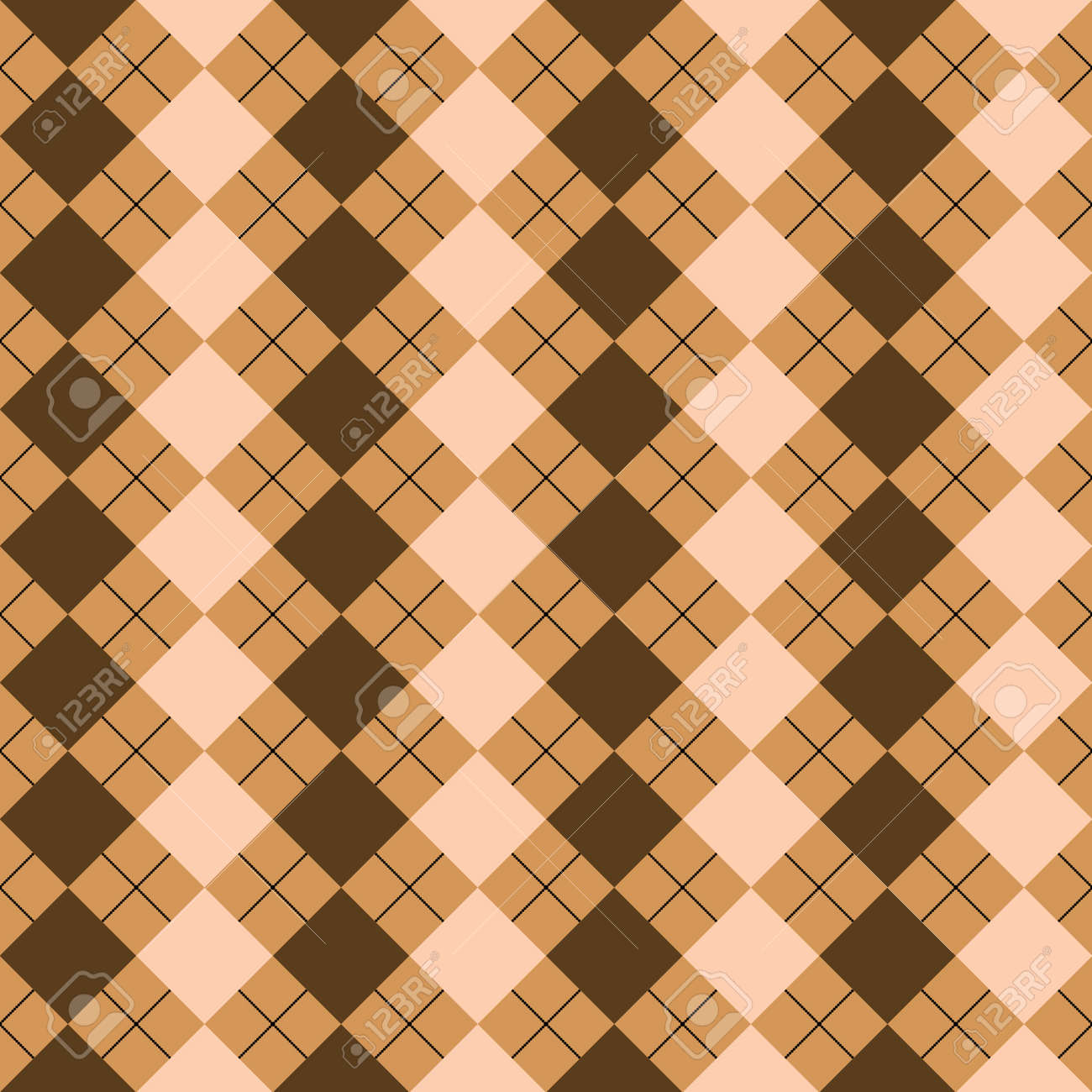 sweater texture mixed brown colors, art illustration, more textures in my gallery Stock Illustration - 7336420