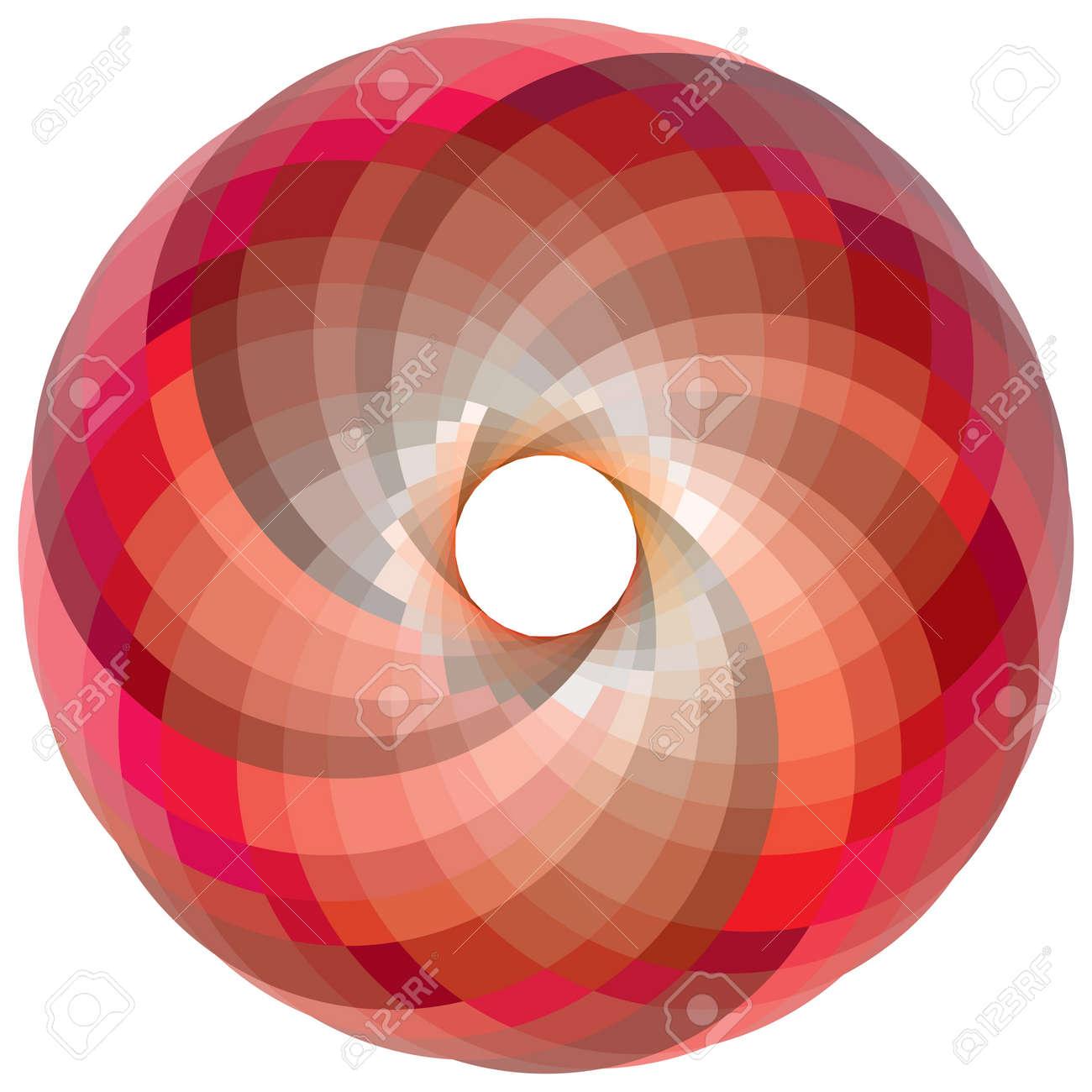 vortex color palette, abstract art illustration Stock Photo - 8545654
