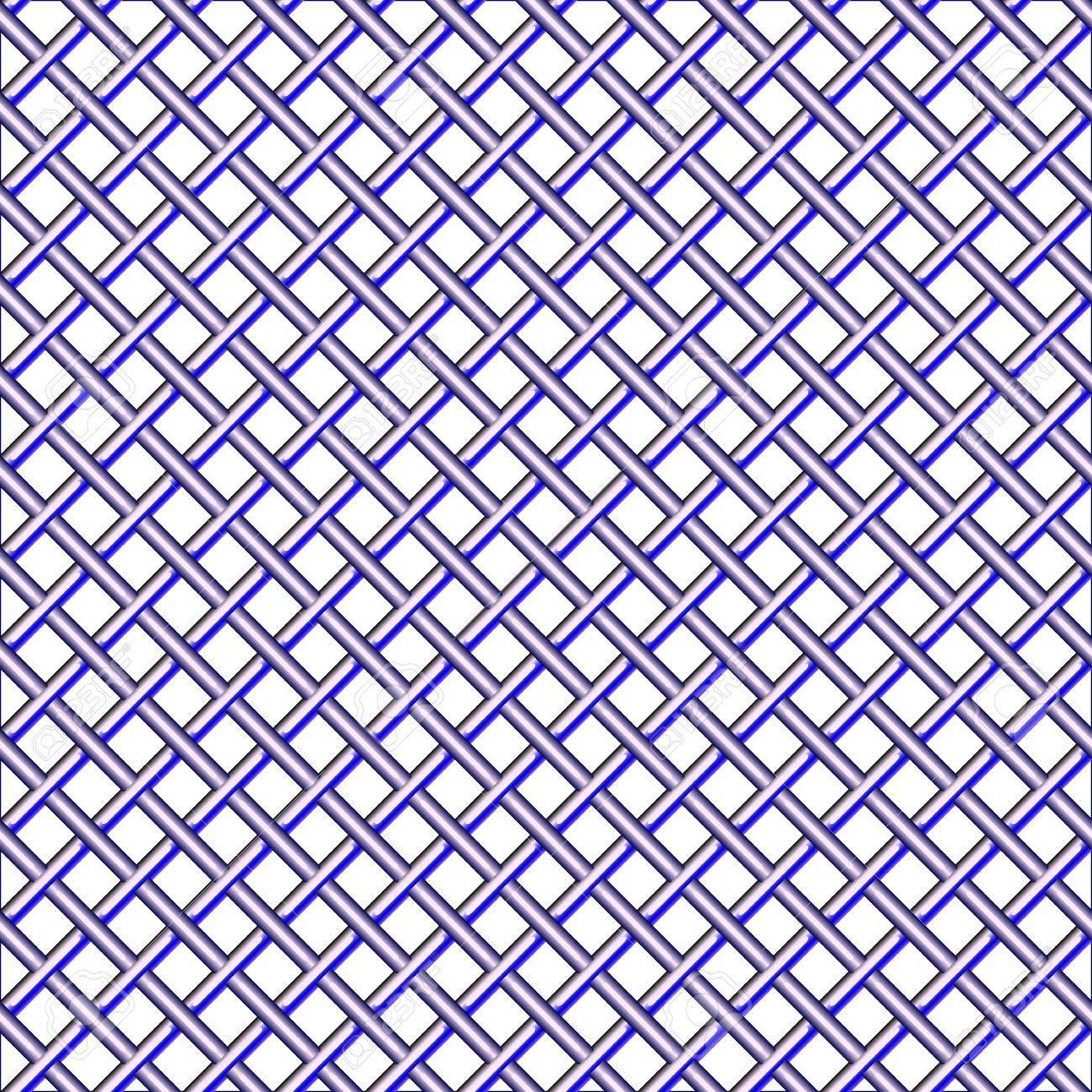 steel seamless mesh pattern, abstract texture; vector art illustration Stock Illustration - 9626360