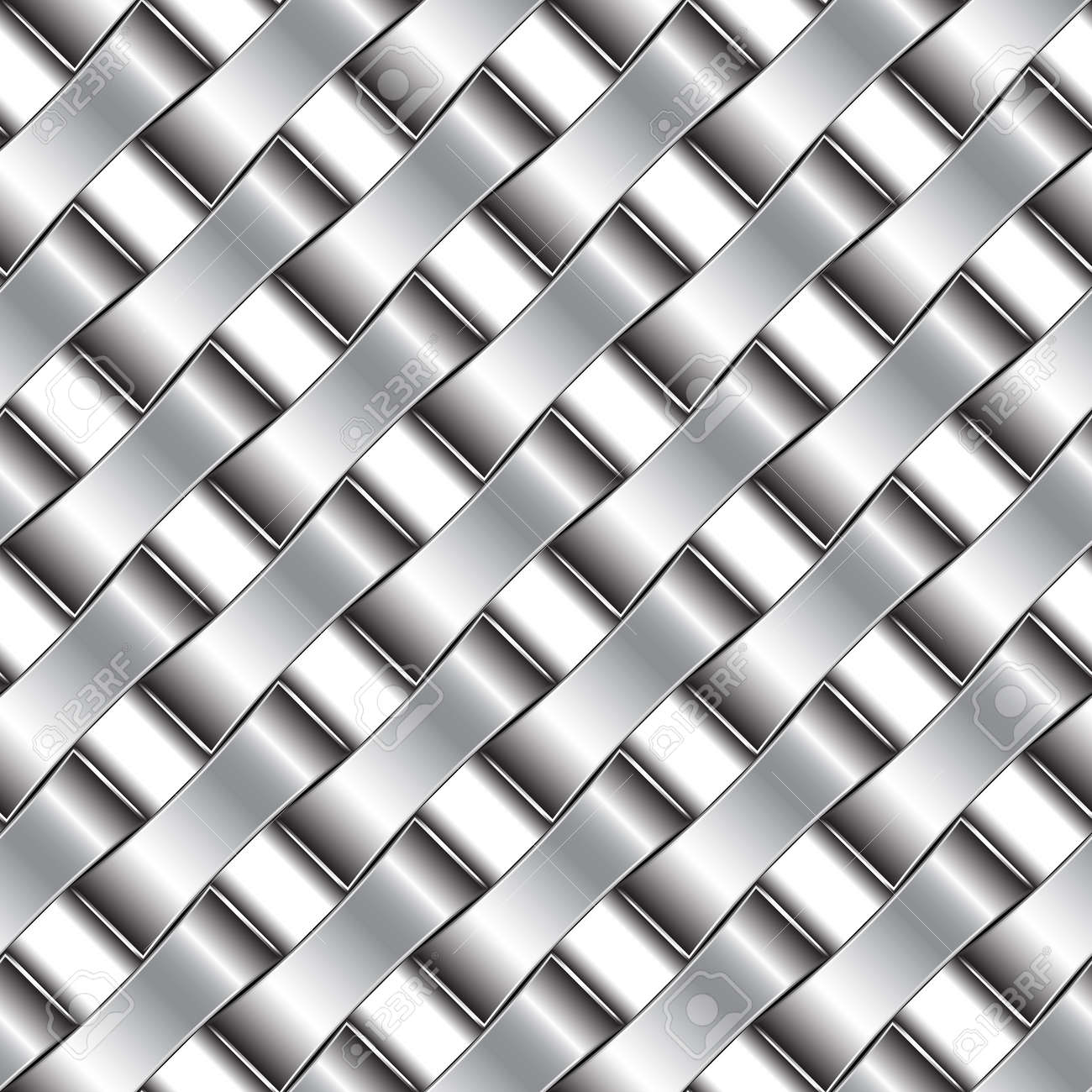 silver pattern, abstract seamless texture; vector art illustration Stock Vector - 10081508
