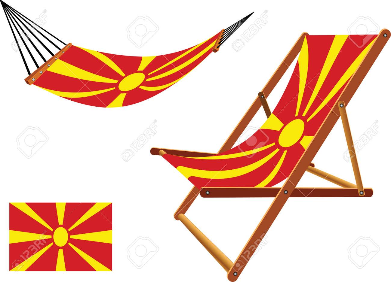 Abstract Macédoine Chaise Un Fond Longue Art BlancVecteur Hamac Illustration Et vN0mnO8w