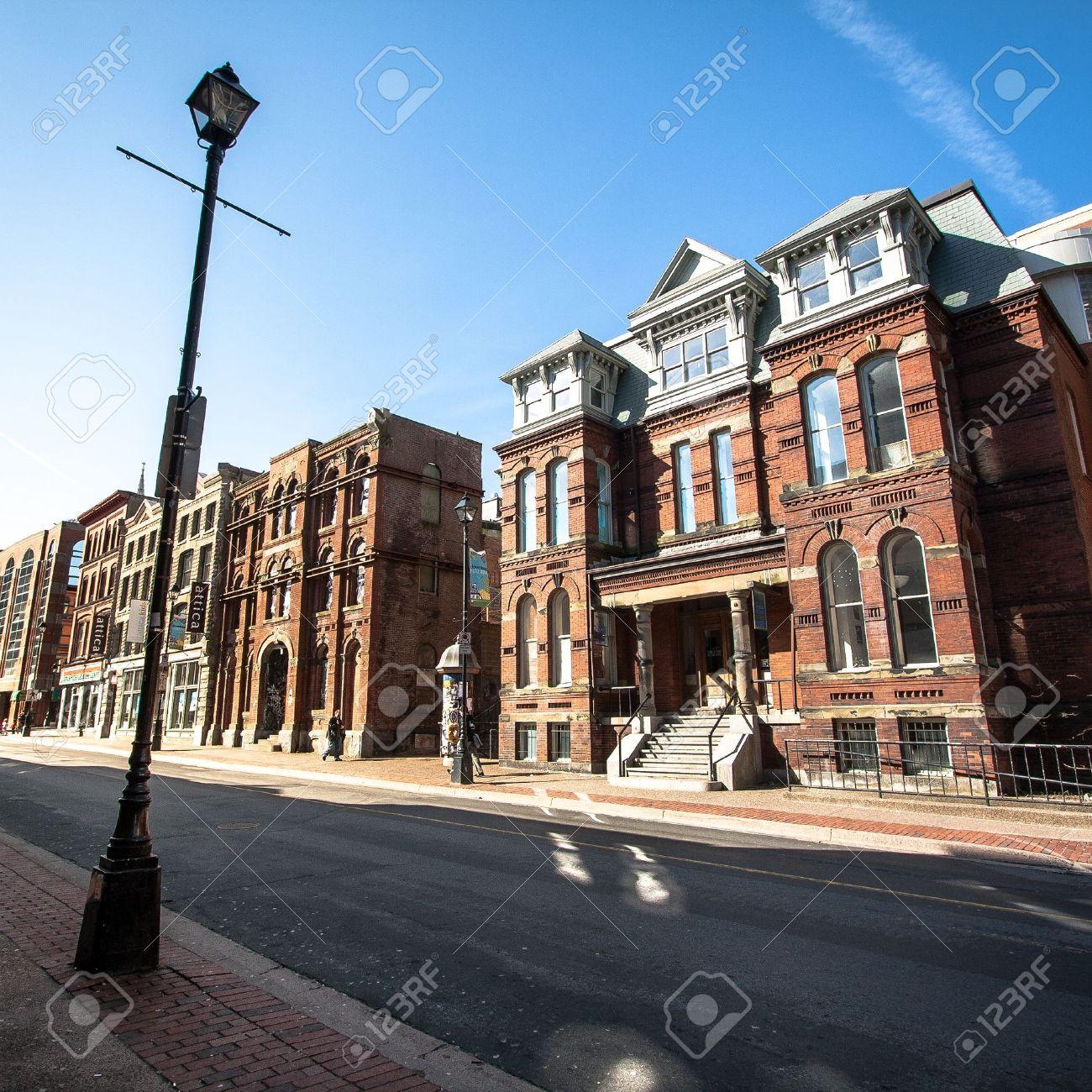 Historic Buildings in Downtown Halifax, Nova Scotia, Canada Stock Photo - 18395705