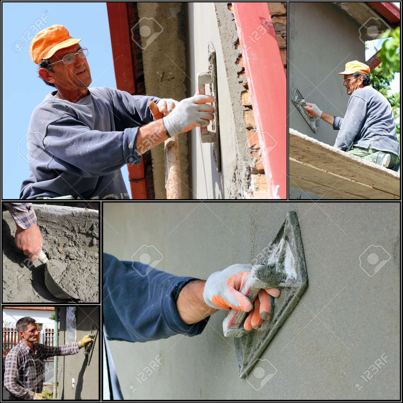 Construction Workers At Work - 18737139