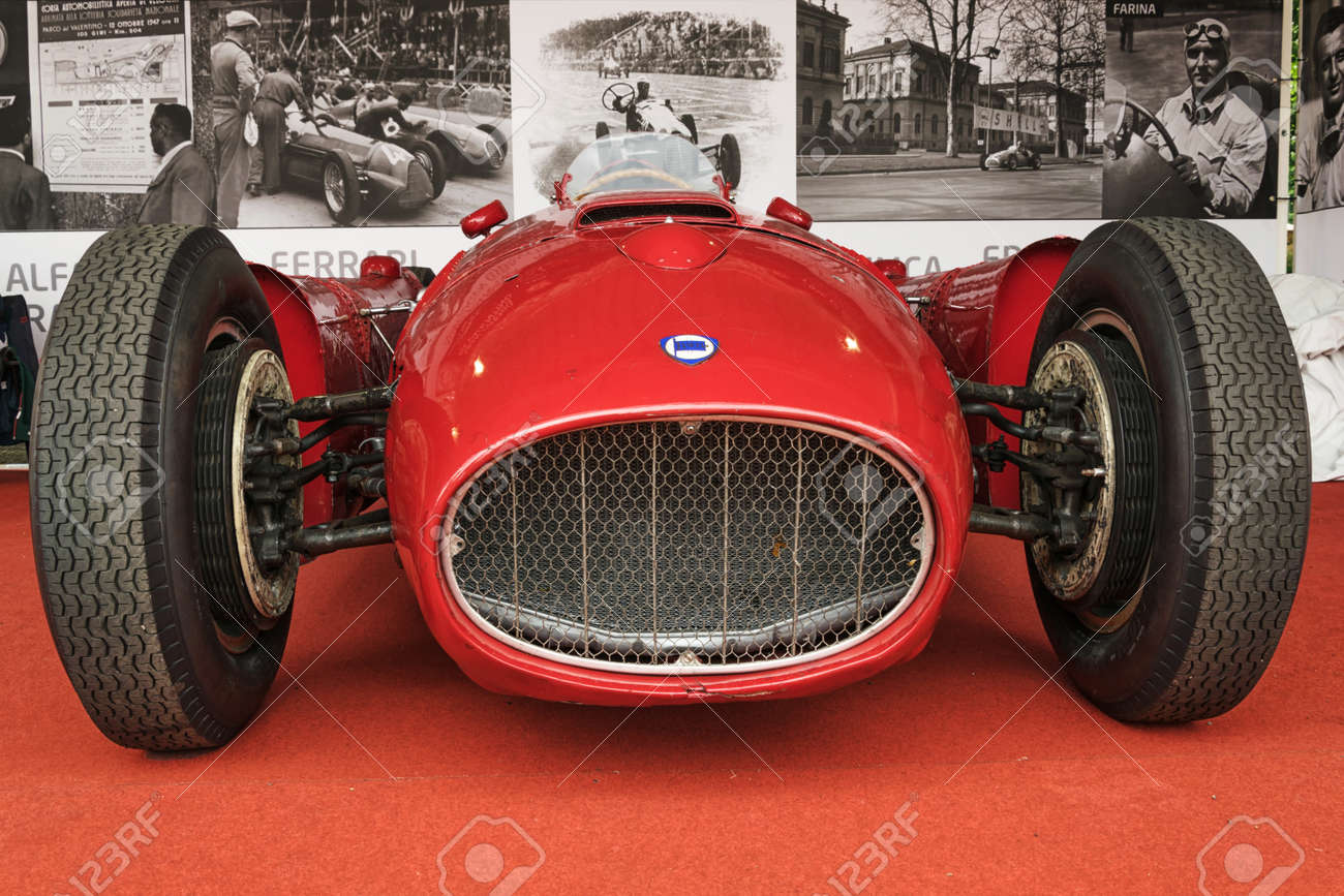 Turin italy june 13 2015 lancia d50 front view the d50 stock photo turin italy june 13 2015 lancia d50 front view the d50 model was a formula one racing car built by lancia from 1954 to 1957 vanachro Gallery