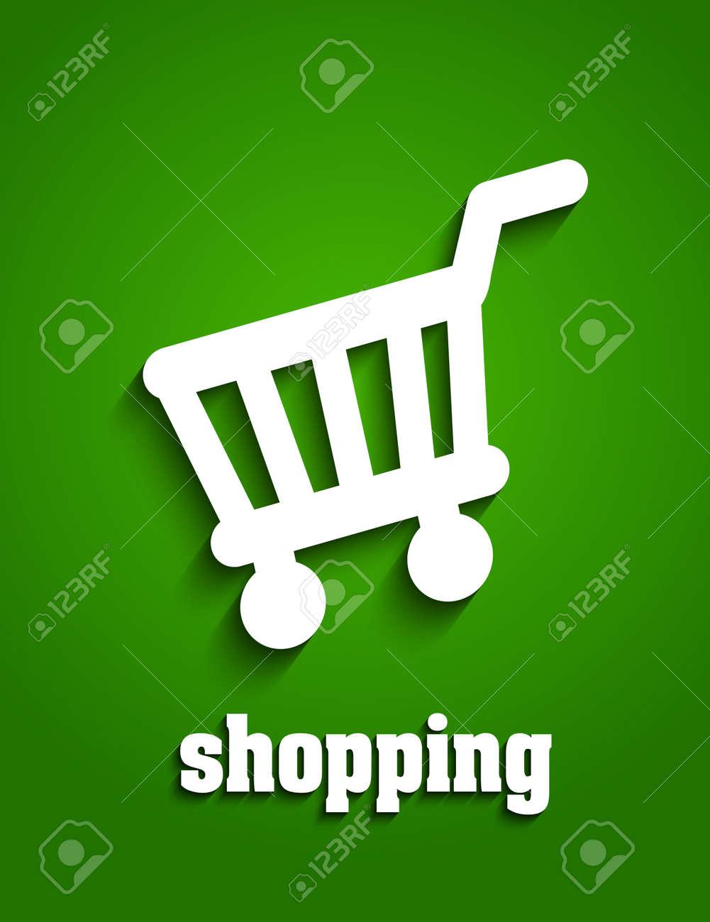 Shopping cart Stock Vector - 20237193