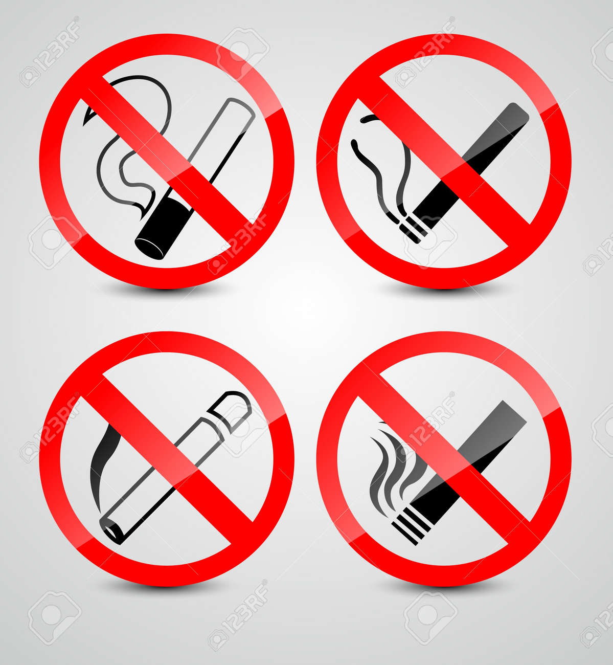No smoking symbols royalty free cliparts vectors and stock no smoking symbols stock vector 20259221 buycottarizona Images