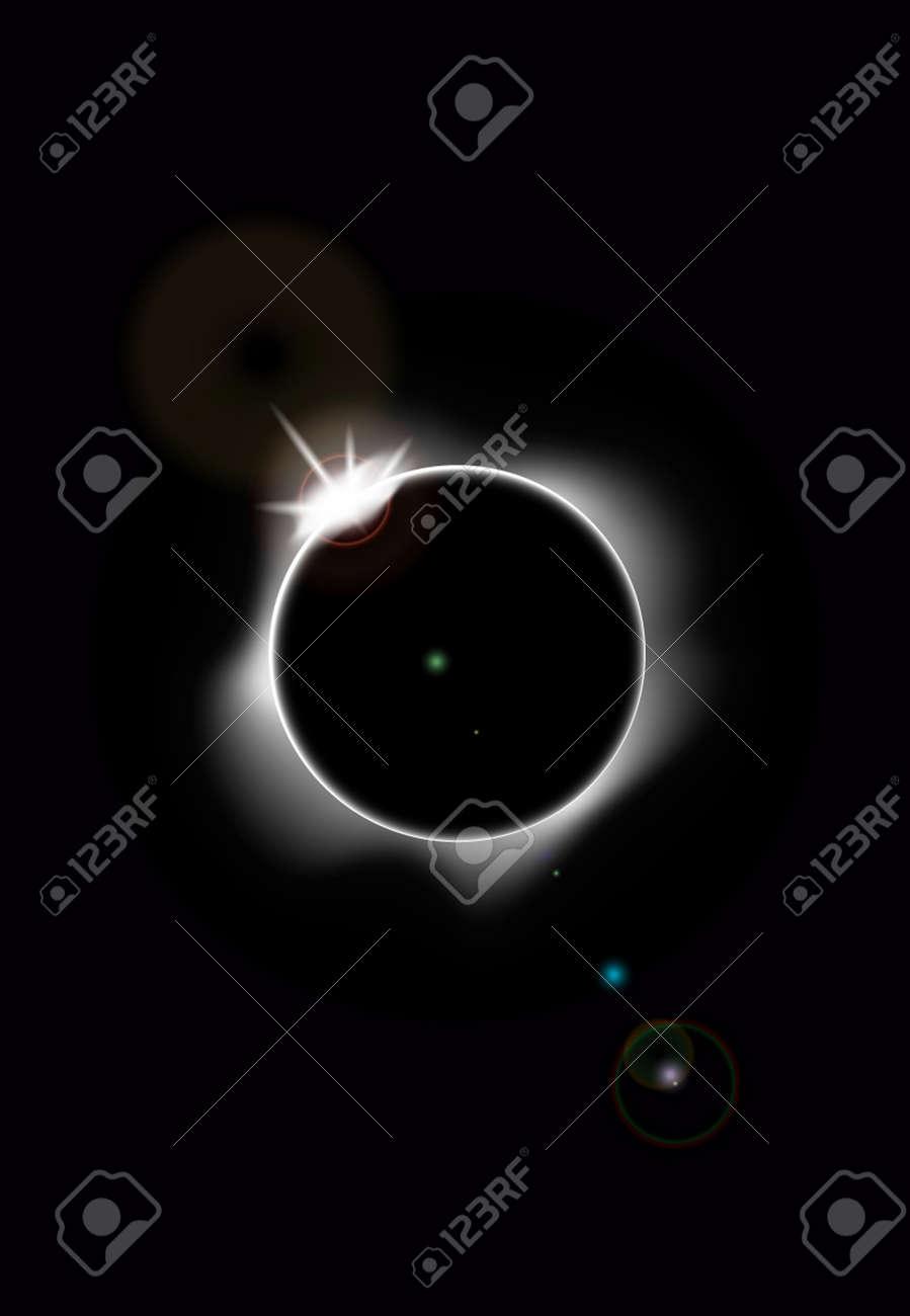 Solar eclipse Stock Vector - 20259175