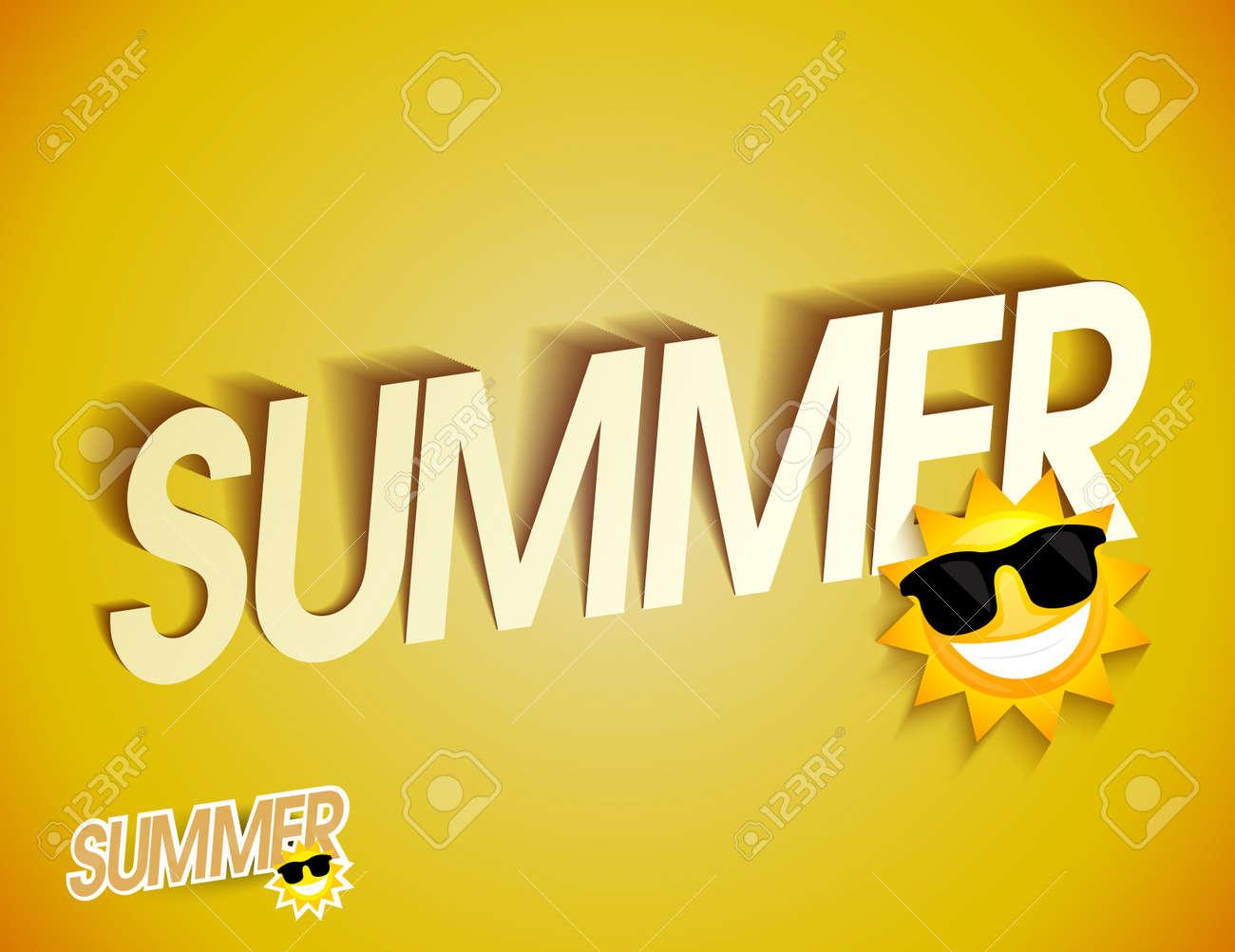Summer background Stock Vector - 20259362