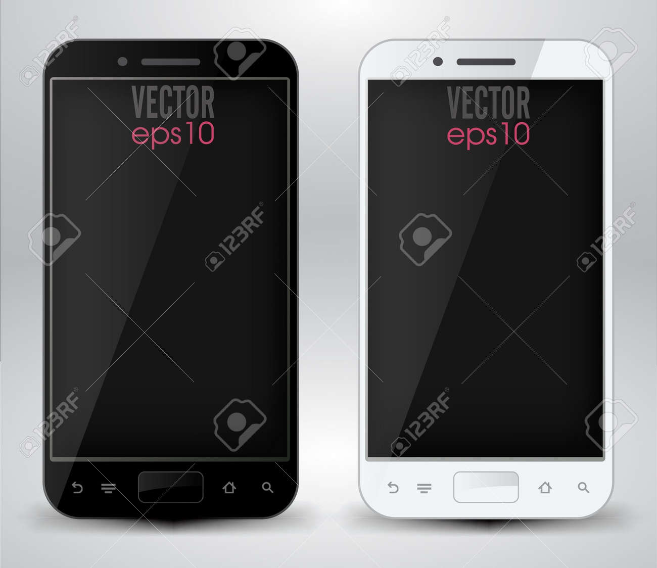Smartphones Stock Vector - 21056873