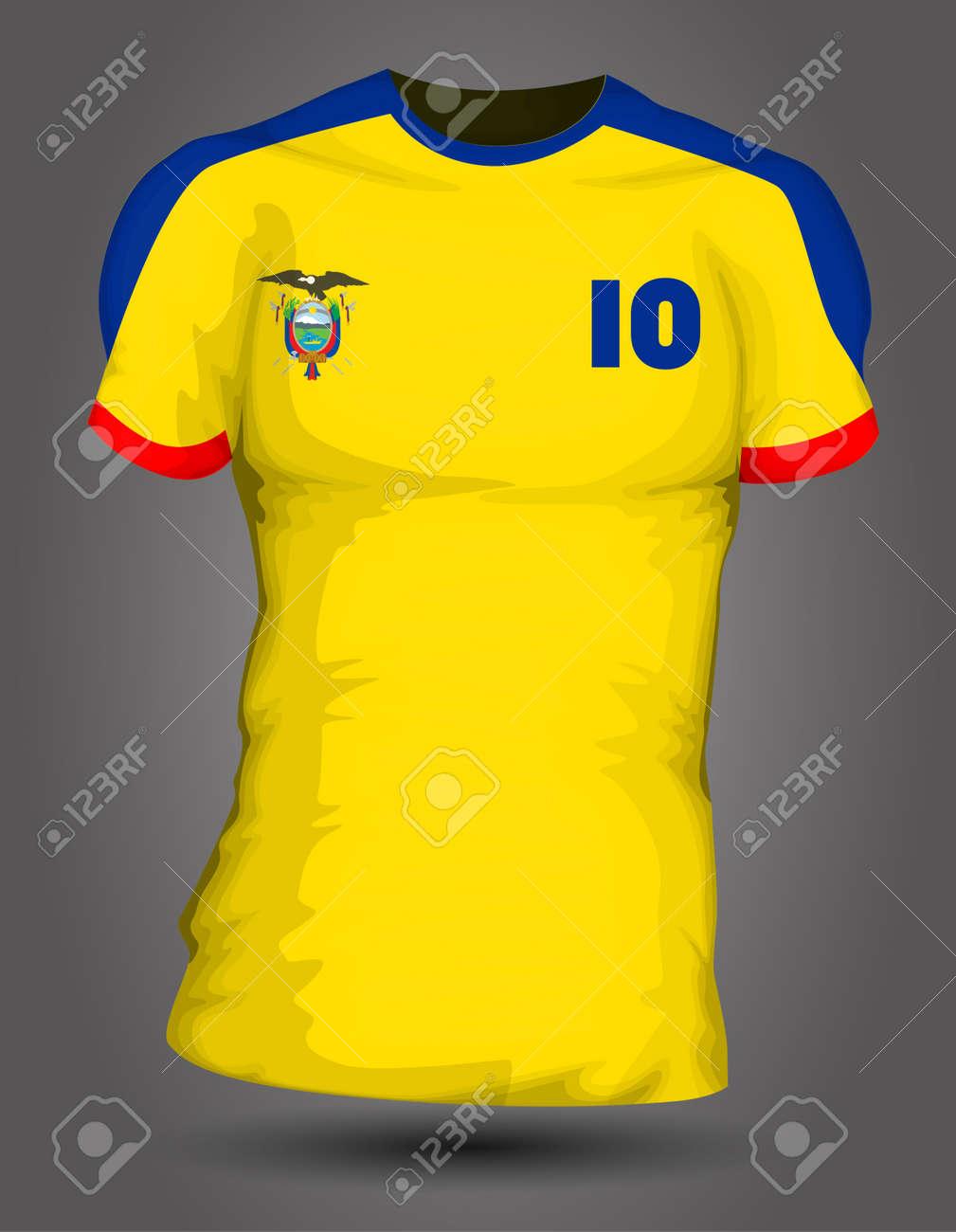 ecuador soccer jersey