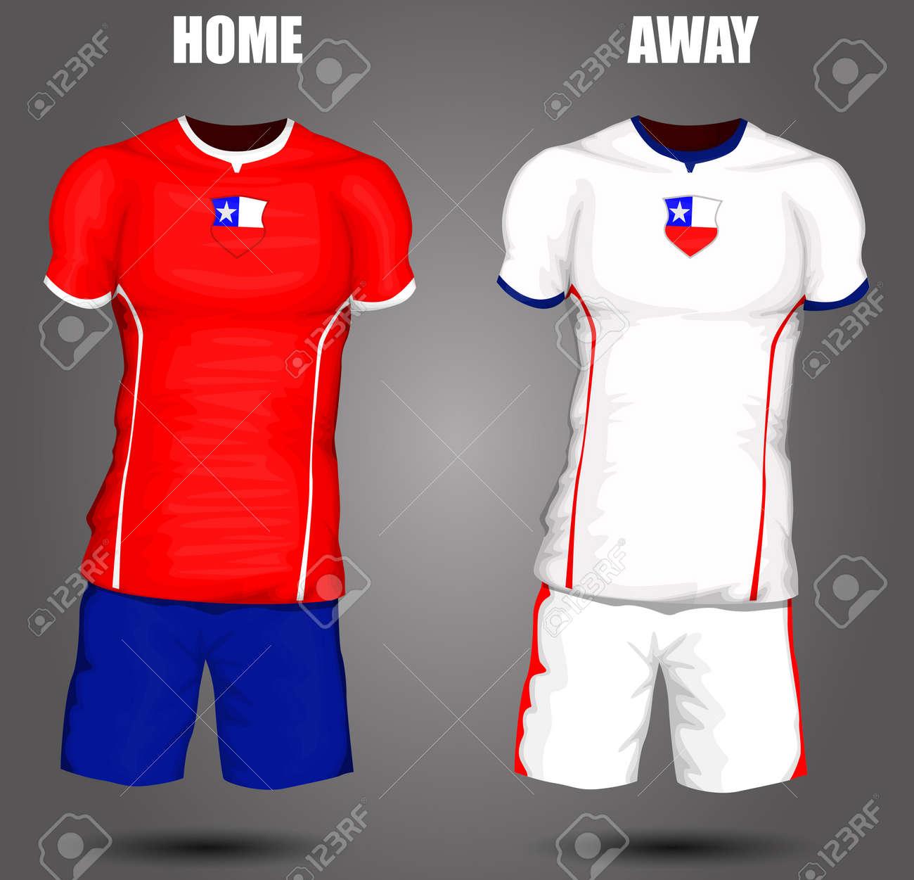 e190dea8ec7 ... best chile soccer jersey stock vector 28036508 4322e 22605