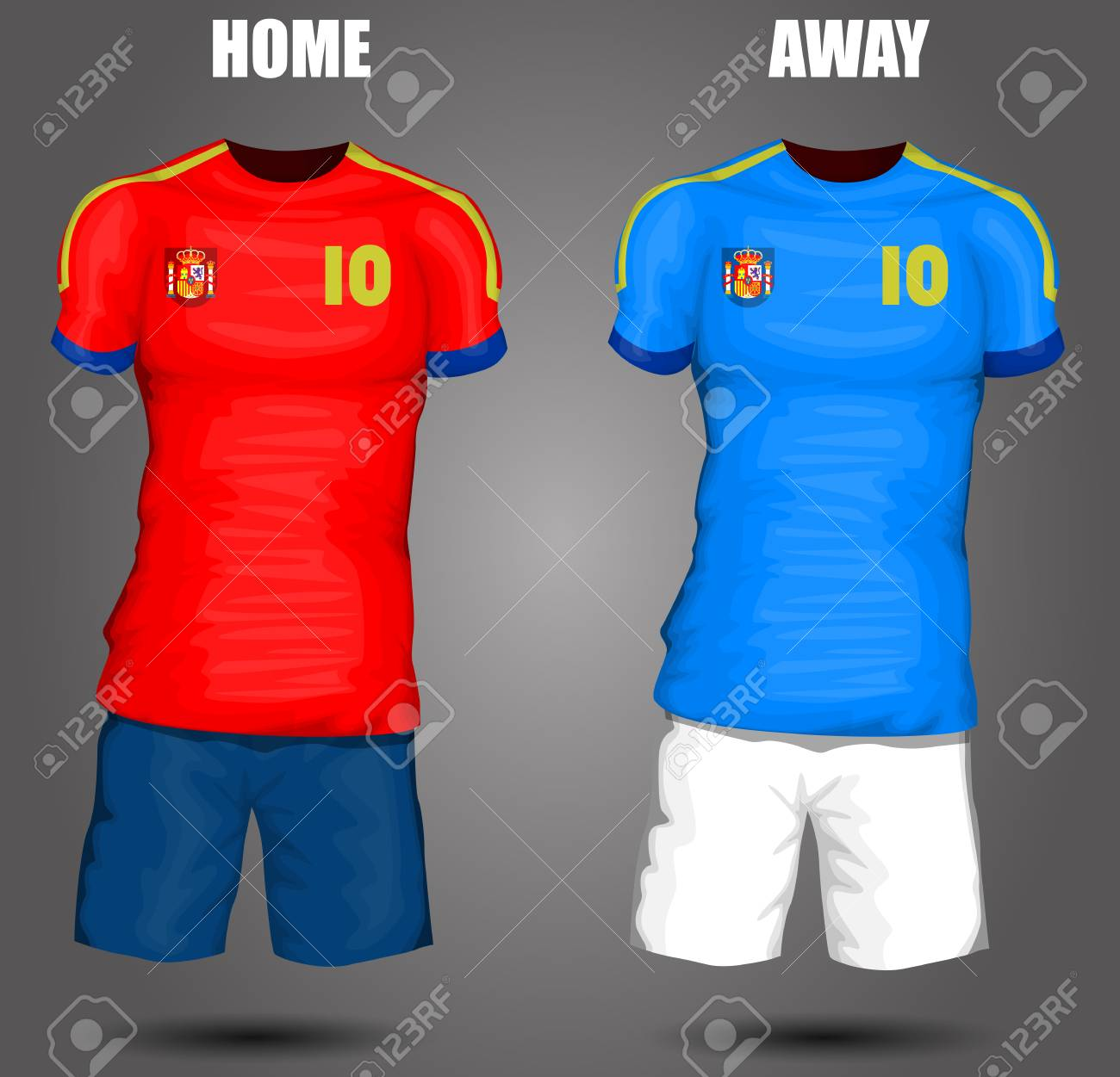 9656cf8a9 Spain soccer jersey Stock Vector - 28036518