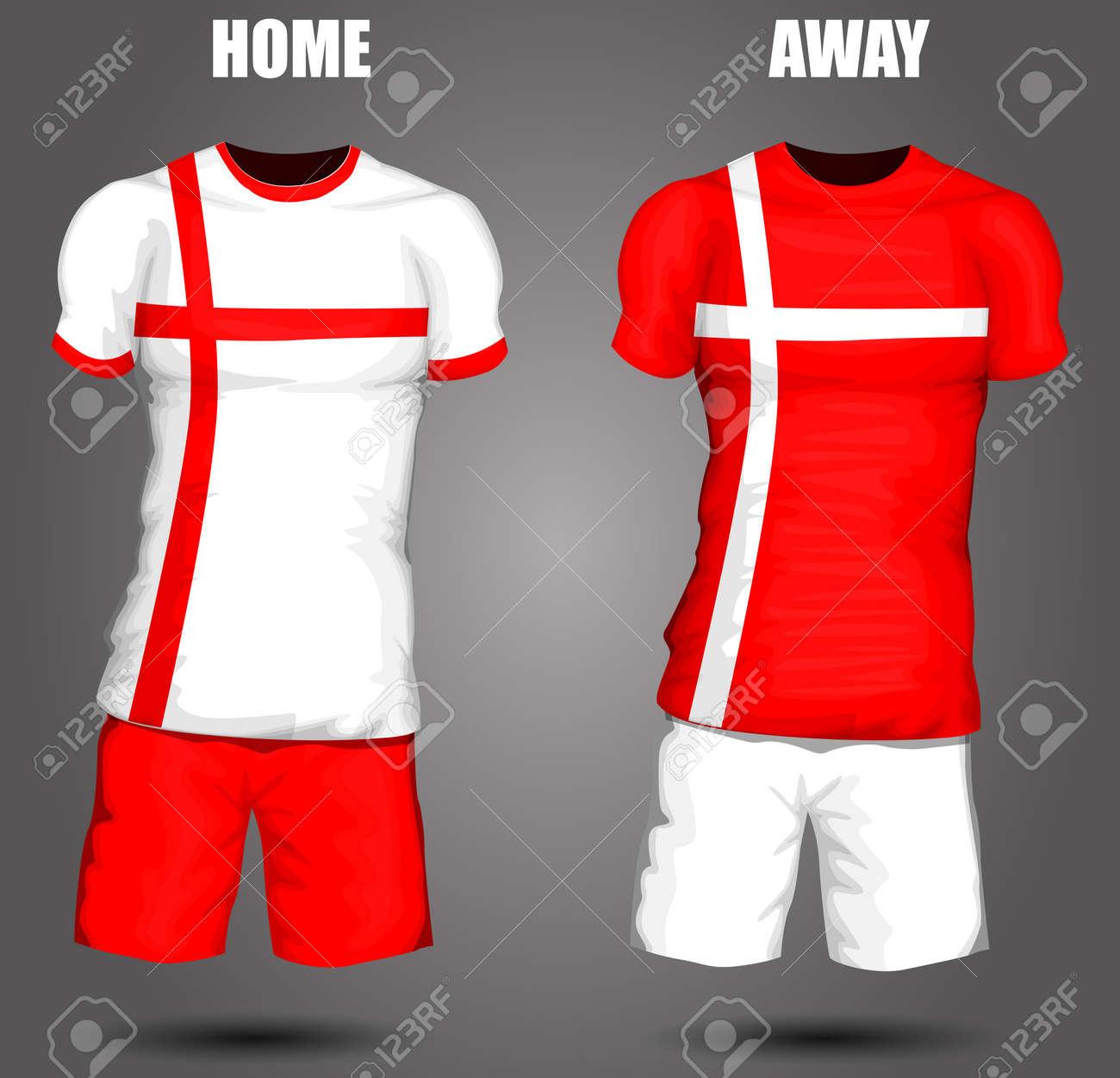 c4c99b60b England soccer jersey Stock Vector - 28036604
