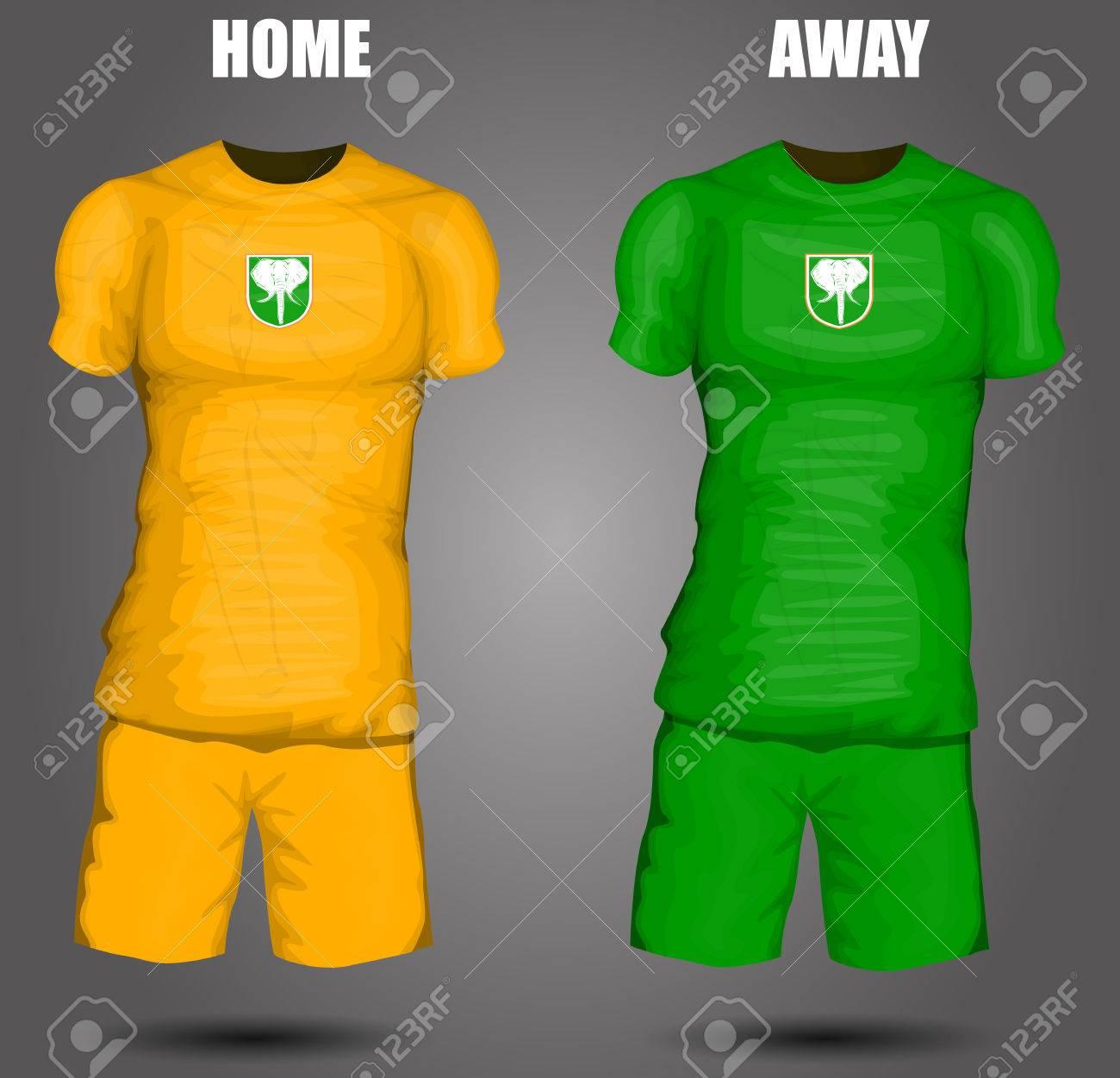 191aaa858 Ivory Coast soccer jersey Stock Vector - 28036611