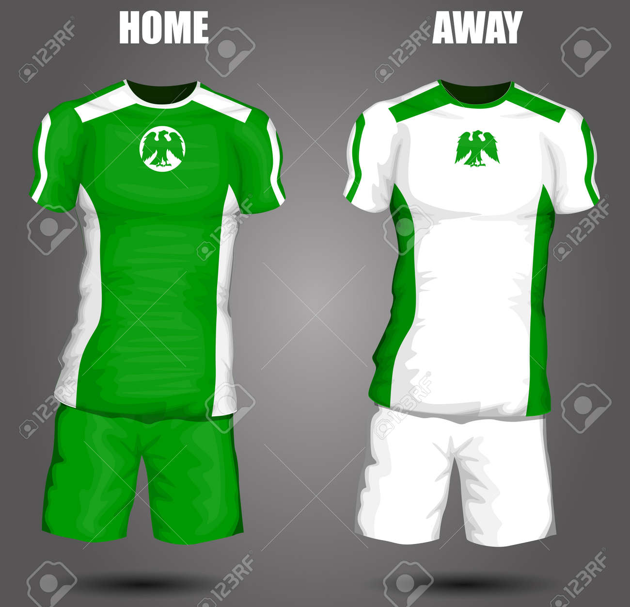 62a5a9d72 Nigeria soccer jersey Stock Vector - 28036614