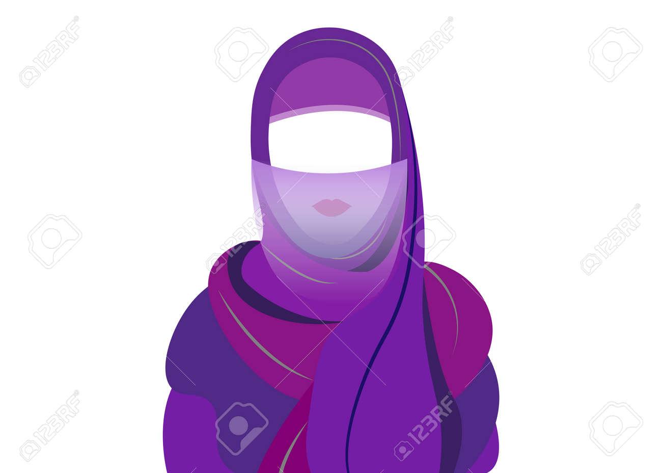 femme arabe dessin