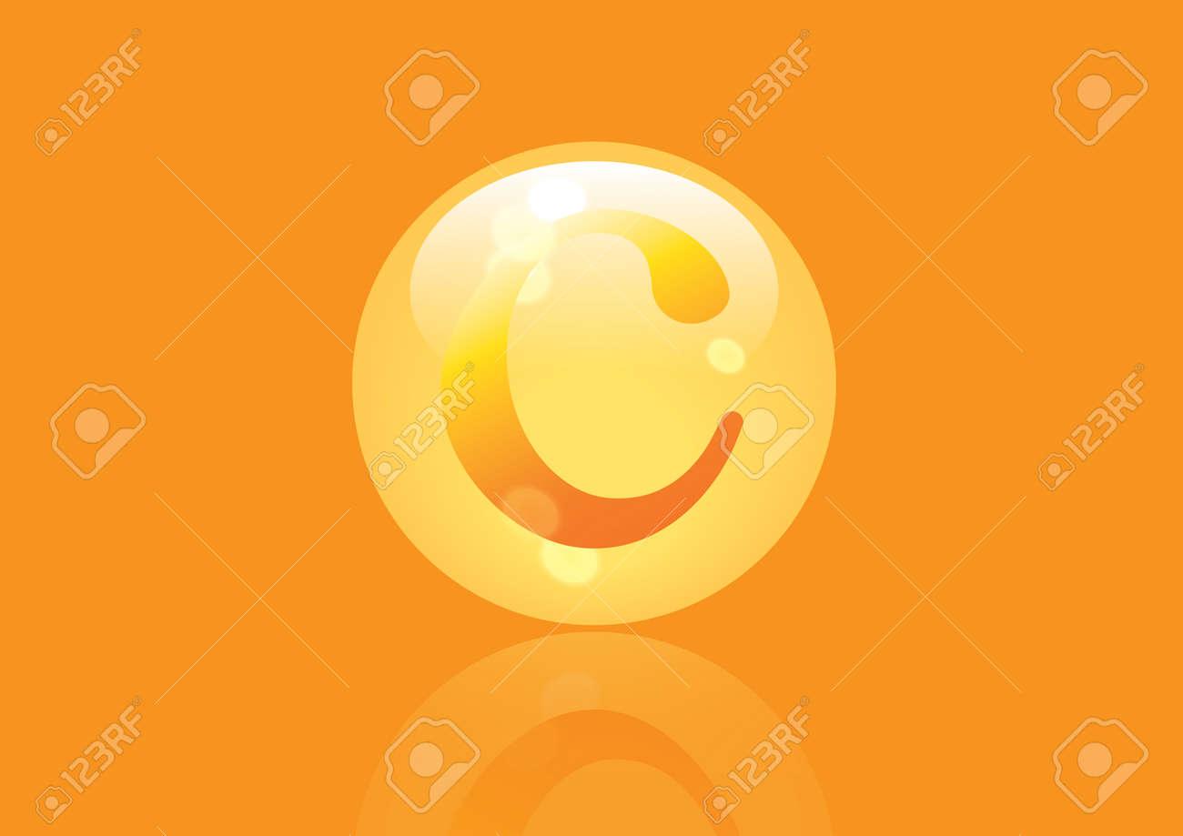 Vitamin C Symbol Ascorbinsure Pillen Kapseln Lizenzfrei Nutzbare
