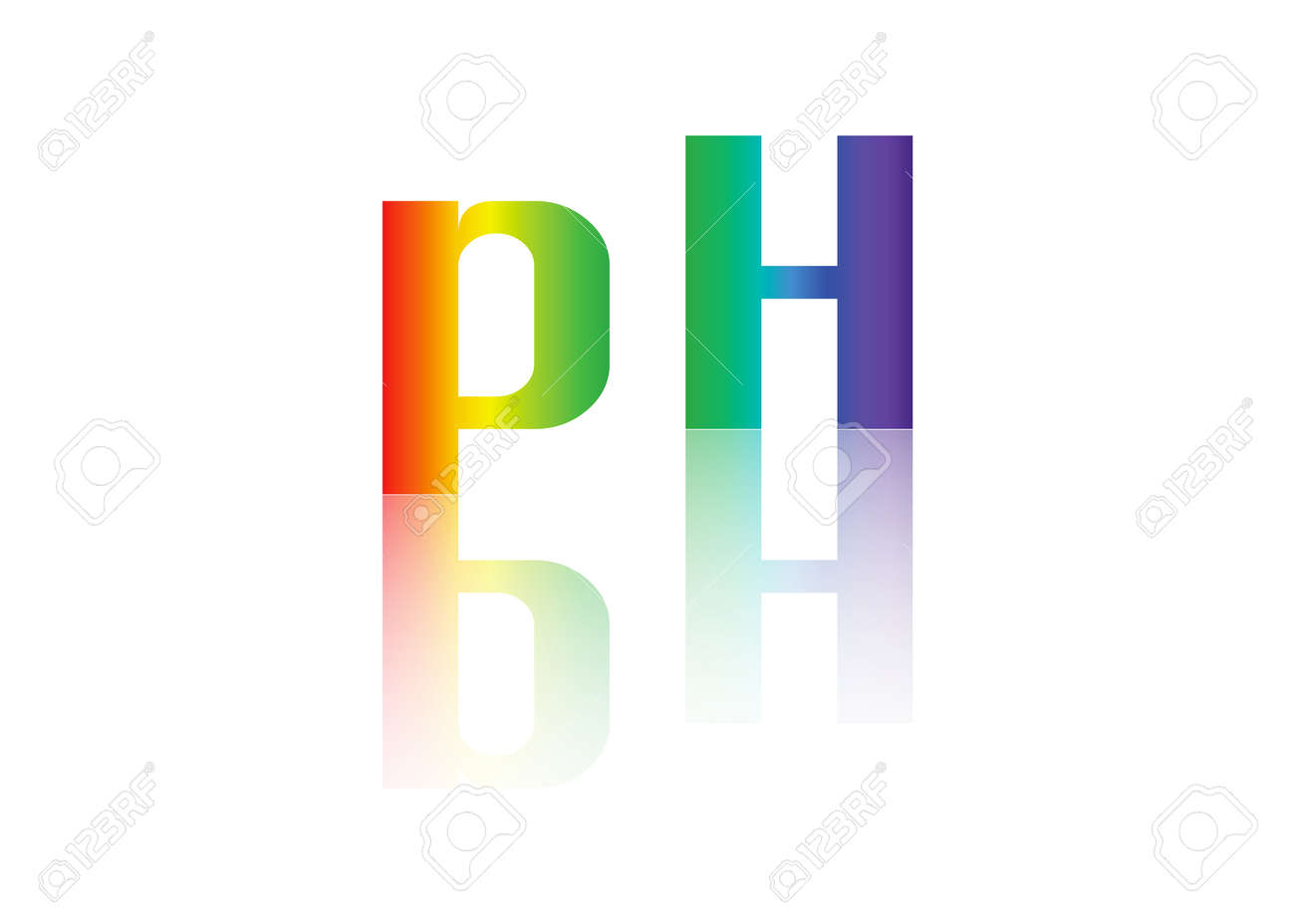 Ph Balance Icon Initial Monogram Logo Royalty Free Cliparts Vectors And Stock Illustration Image 84484702