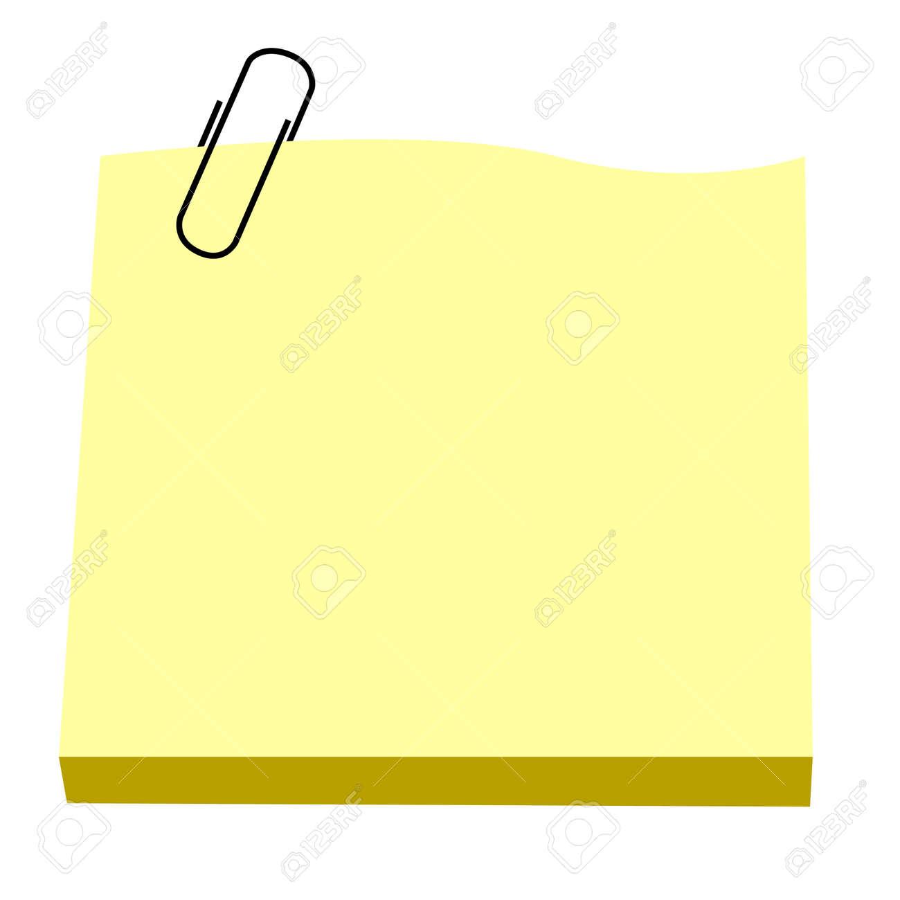 Notepaper Stock Vector - 4939300