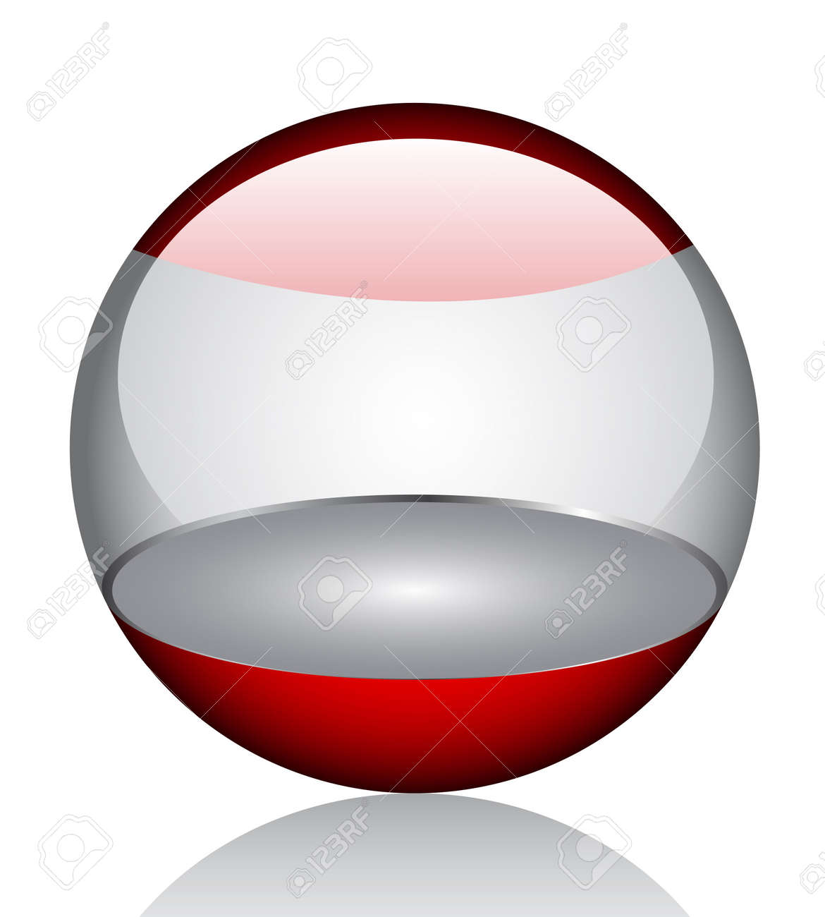 3d glossy orb Stock Vector - 6747770
