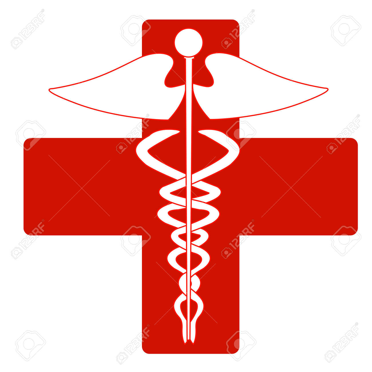 Medical Caduceus Royalty Free Cliparts, Vectors, And Stock ...