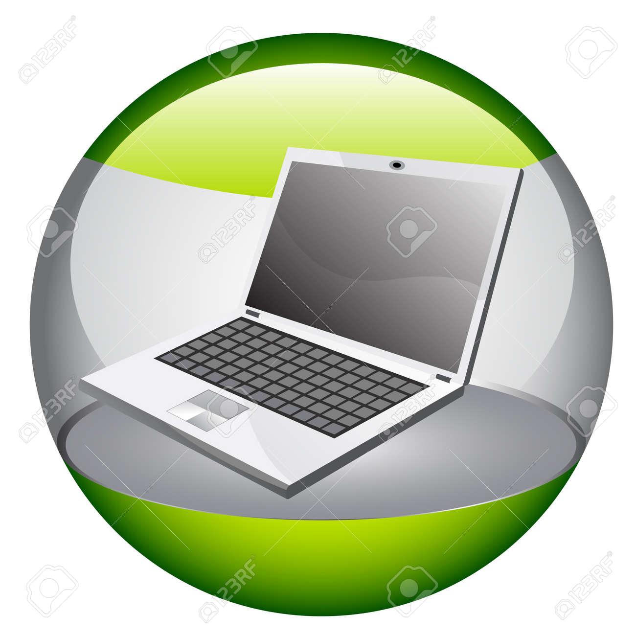 Vector laptop Stock Vector - 7233067