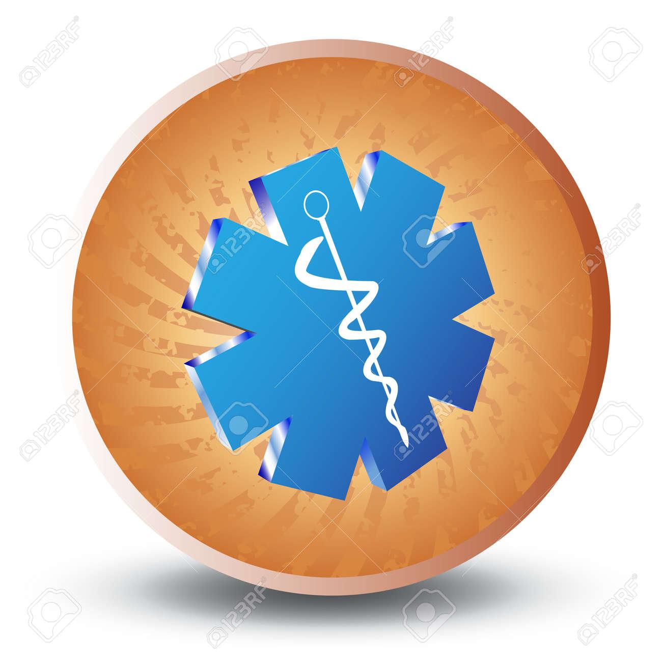 Medical caduceus Stock Vector - 7434416