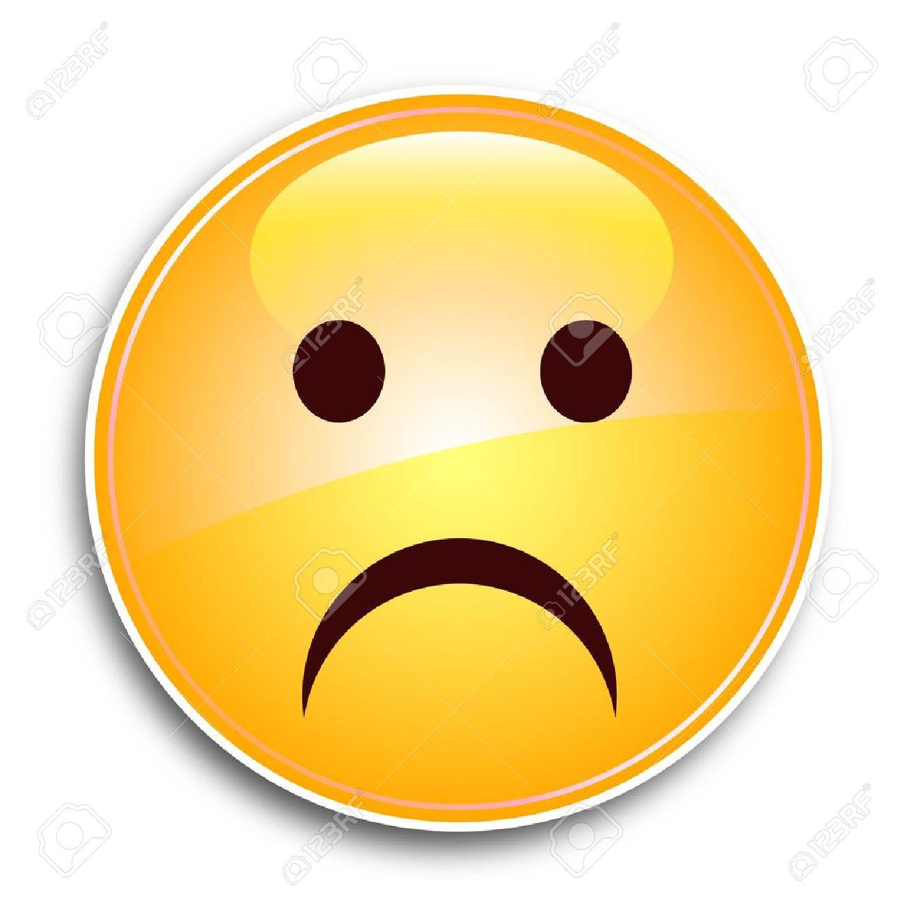 Sad Face Stock Vector - 10310346