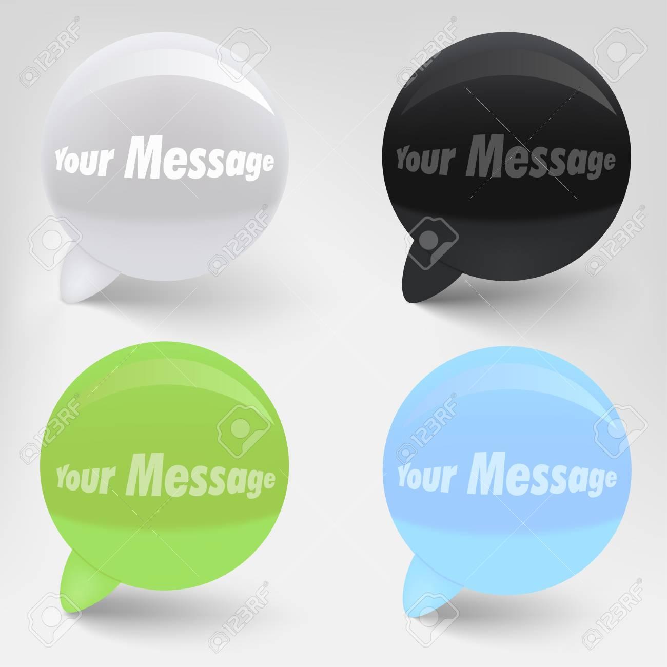 Speech Bubbles Stock Vector - 11657109