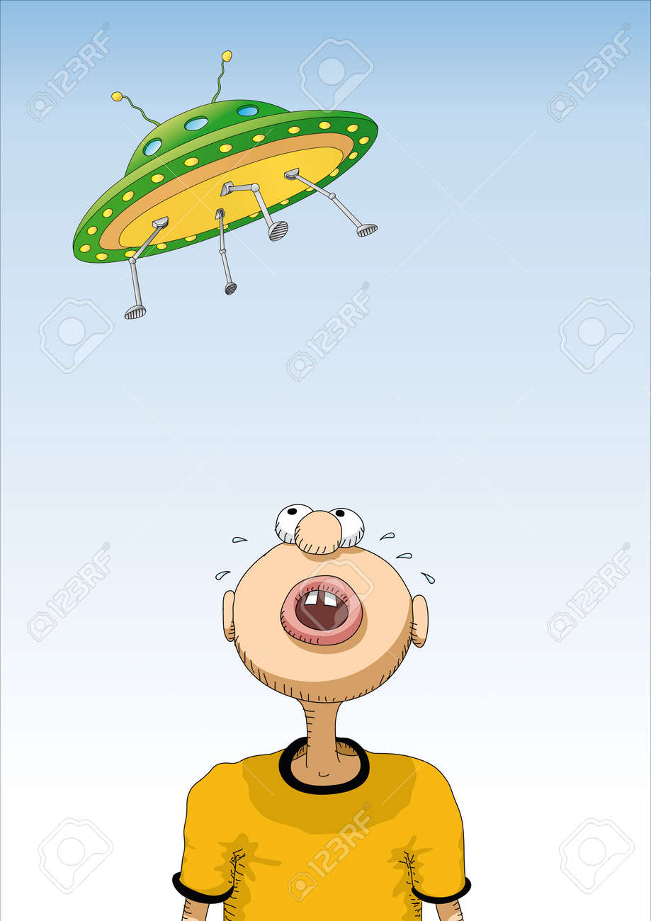 UFO Stock Vector - 10493484