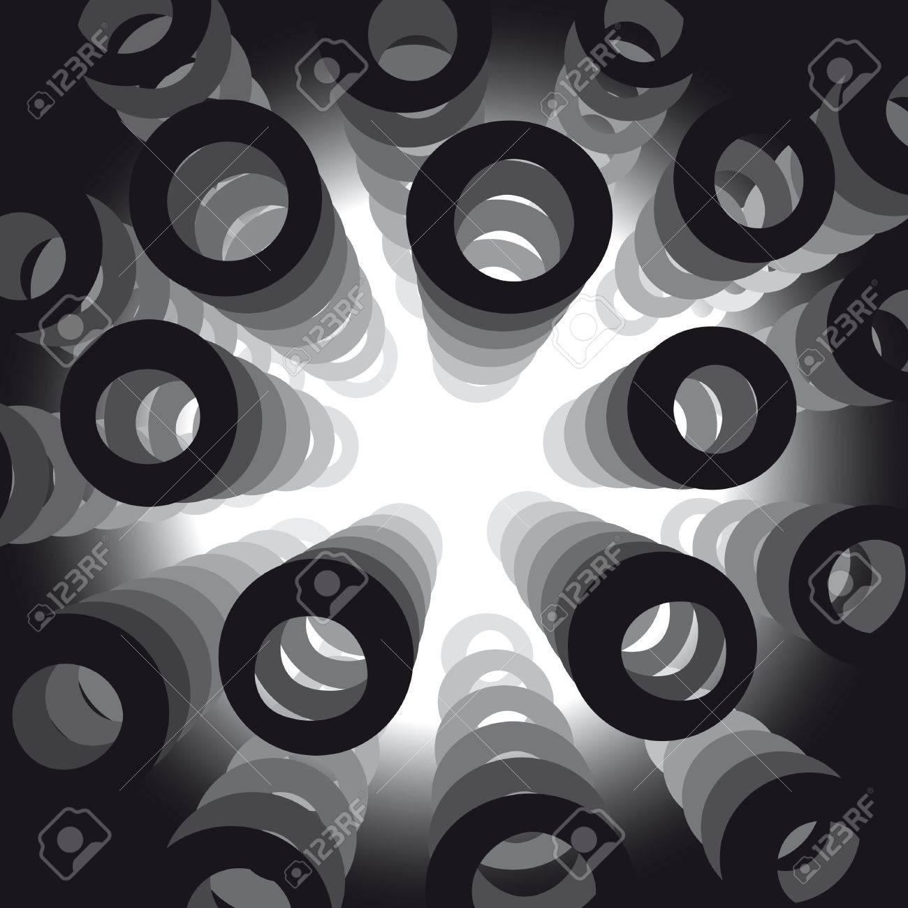 circular shapes Stock Vector - 10590160