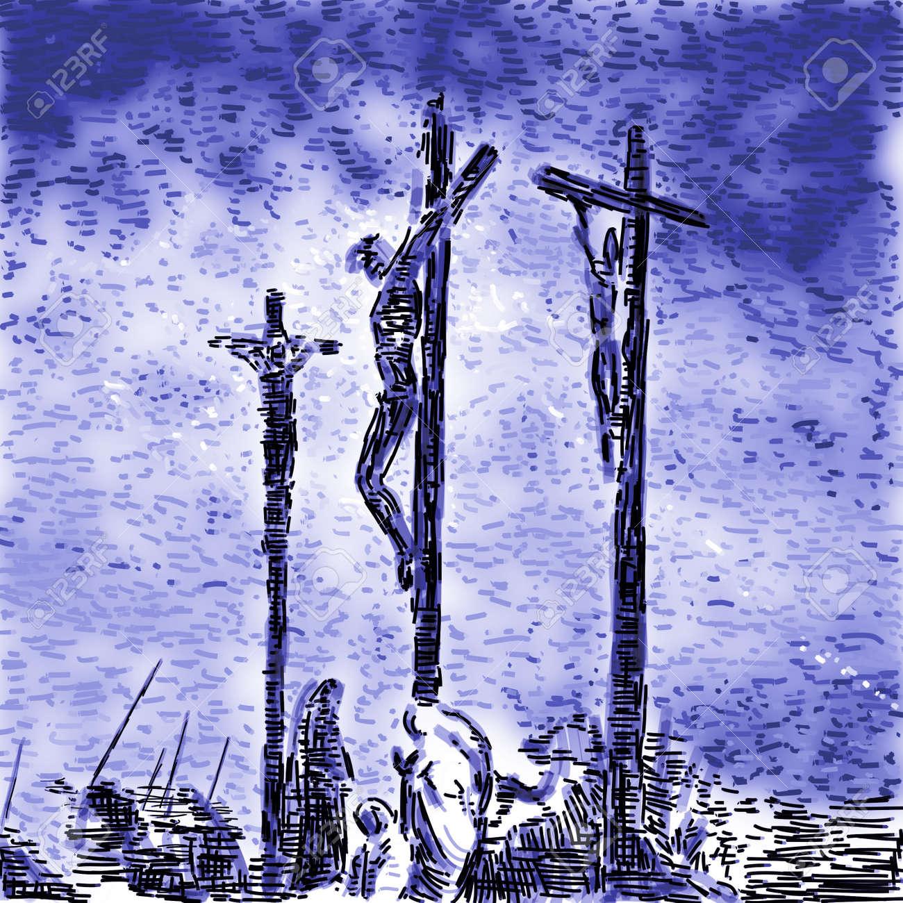 Crucifixion Stock Photo - 10590594