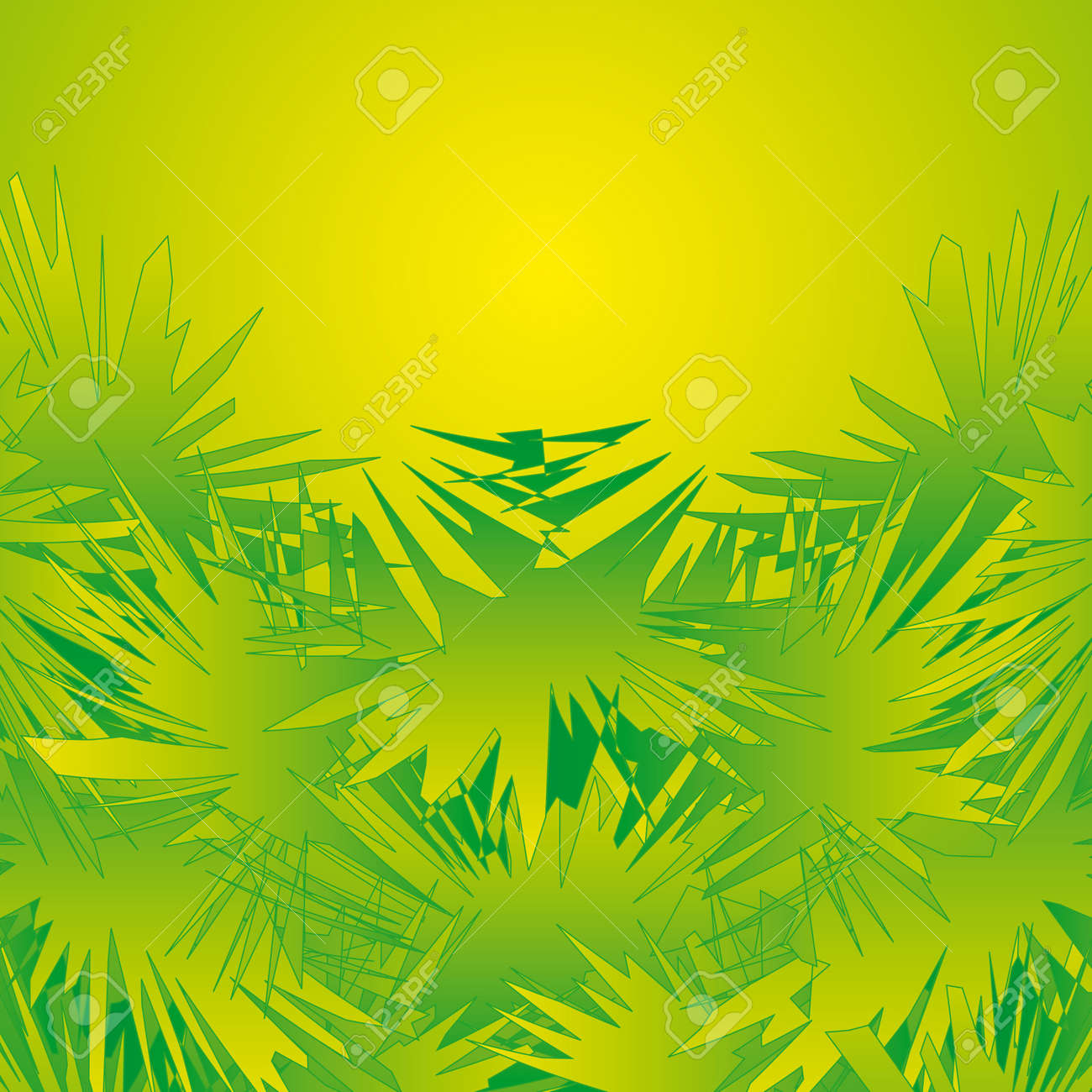 Jungle Decoration Jungle Decoration Royalty Free Cliparts Vectors And Stock