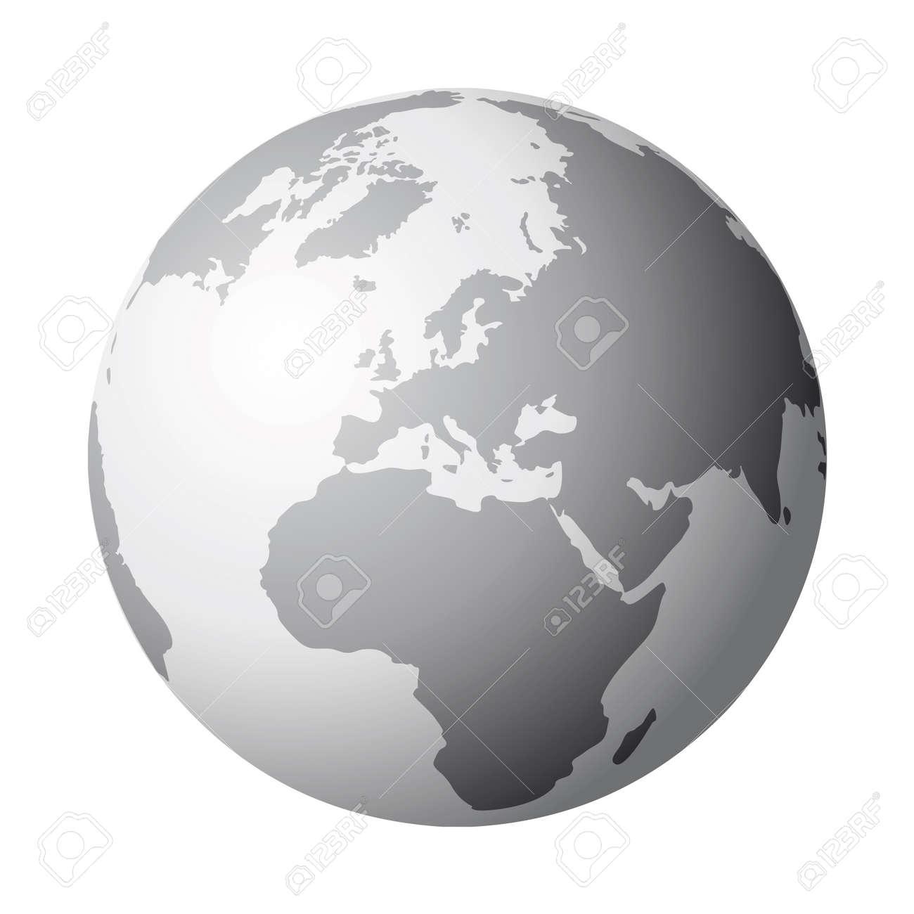world globe Stock Vector - 10665290