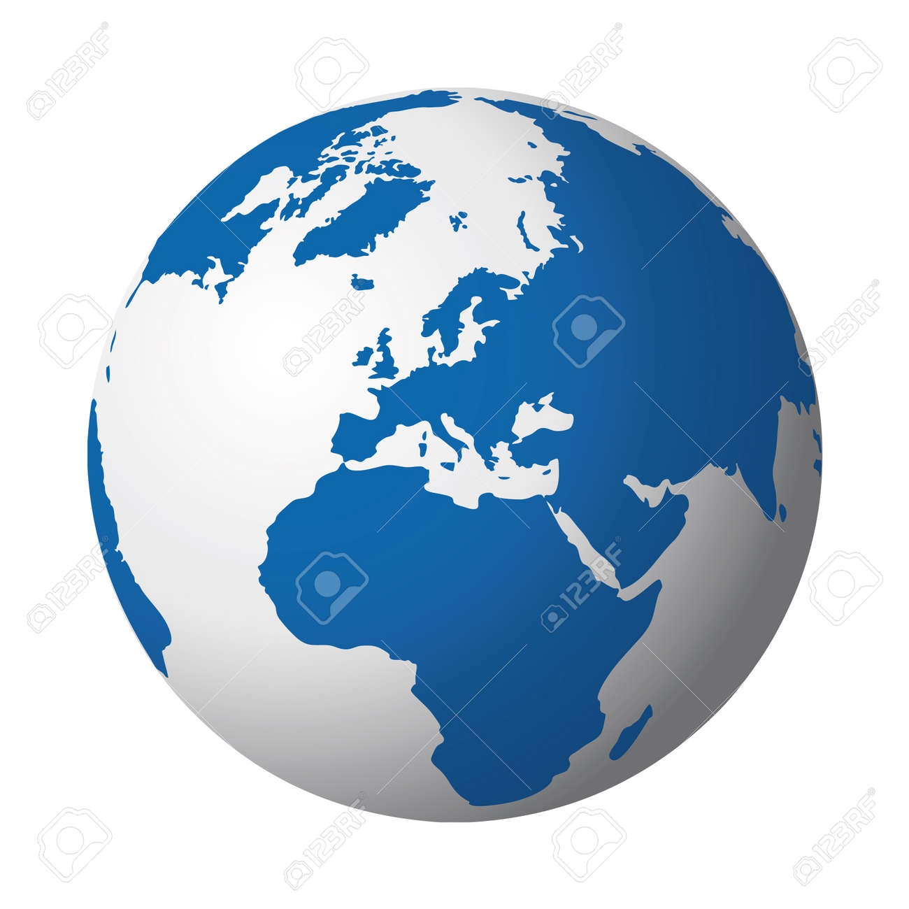 world globe Stock Vector - 10665270