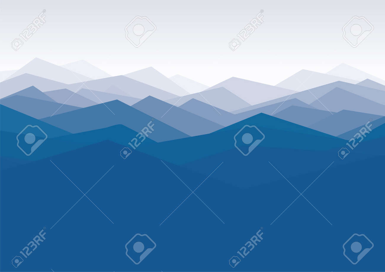 landscape background Stock Vector - 10691645