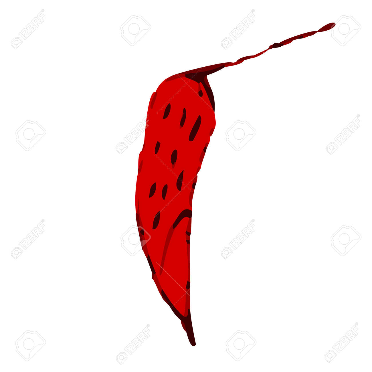 chilli Stock Vector - 10710407