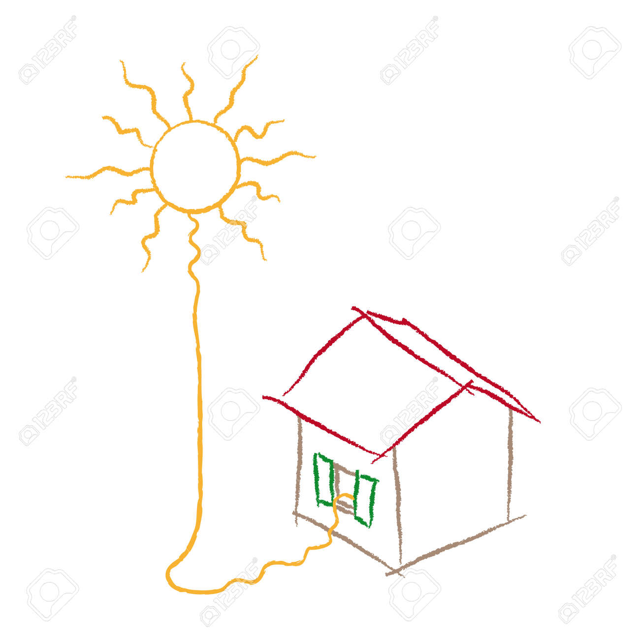 solar energy Stock Vector - 10736710