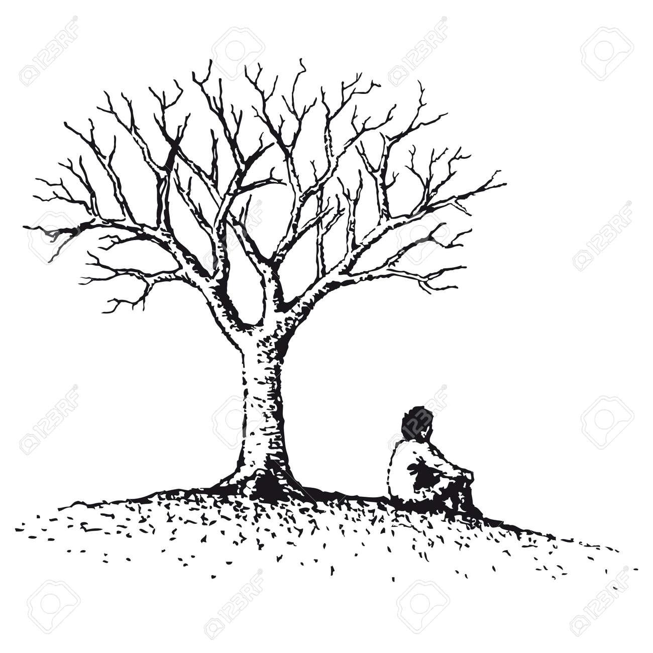 Man sitting Stock Vector - 10736881
