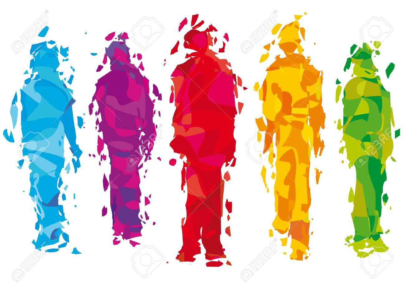 group of people Stock Vector - 12479908