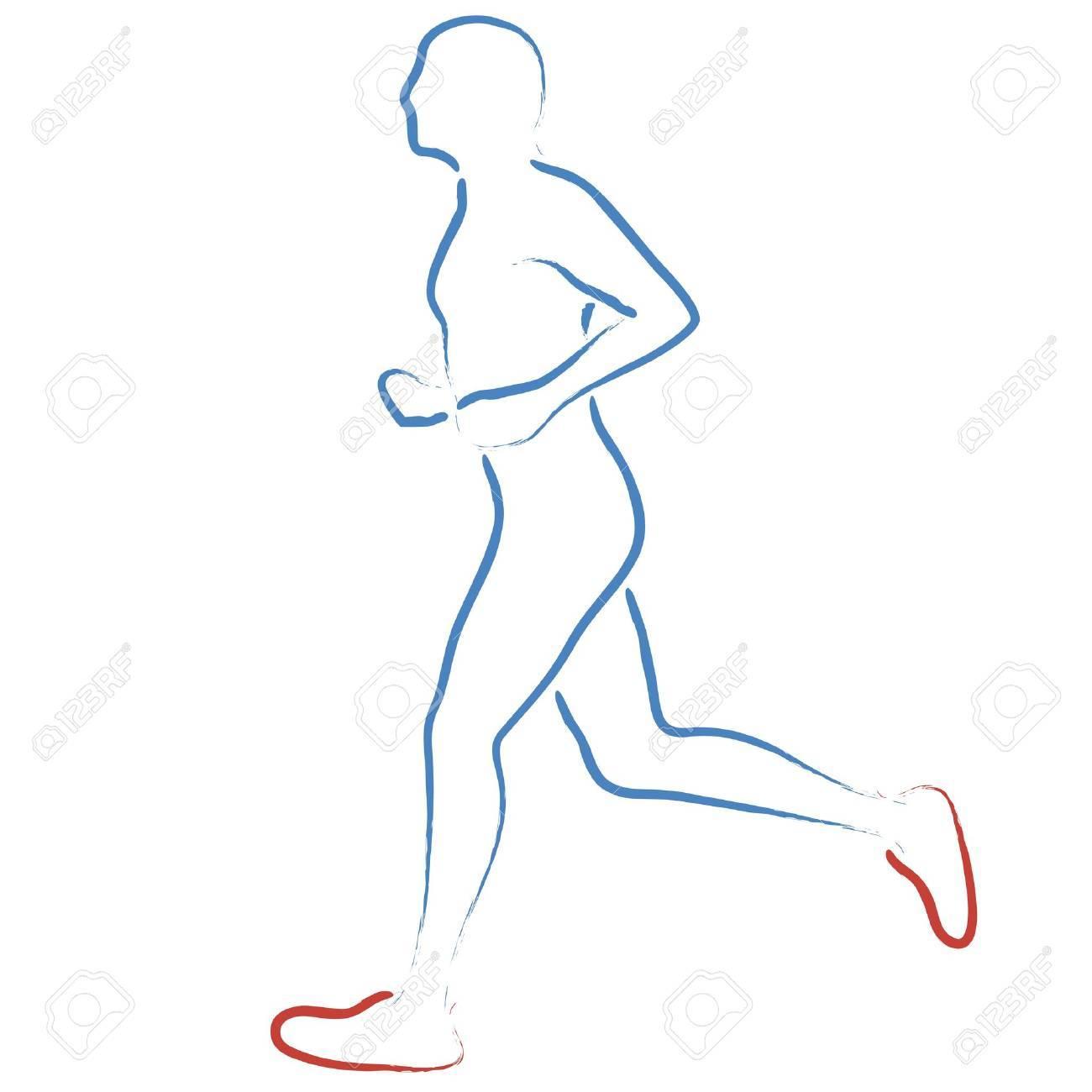 jogging Stock Vector - 19289305