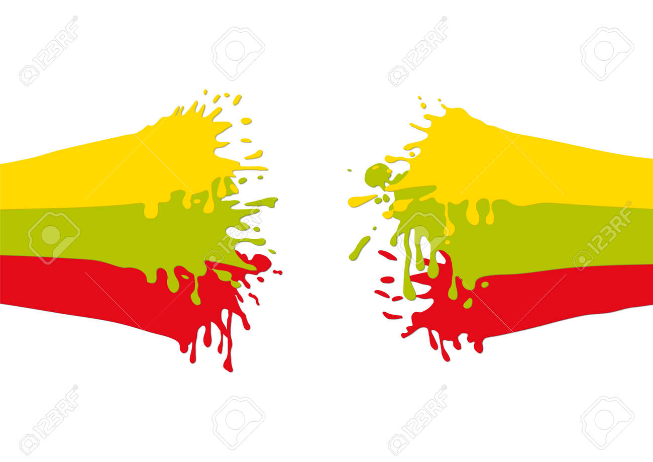 splashes of color Stock Vector - 19289302