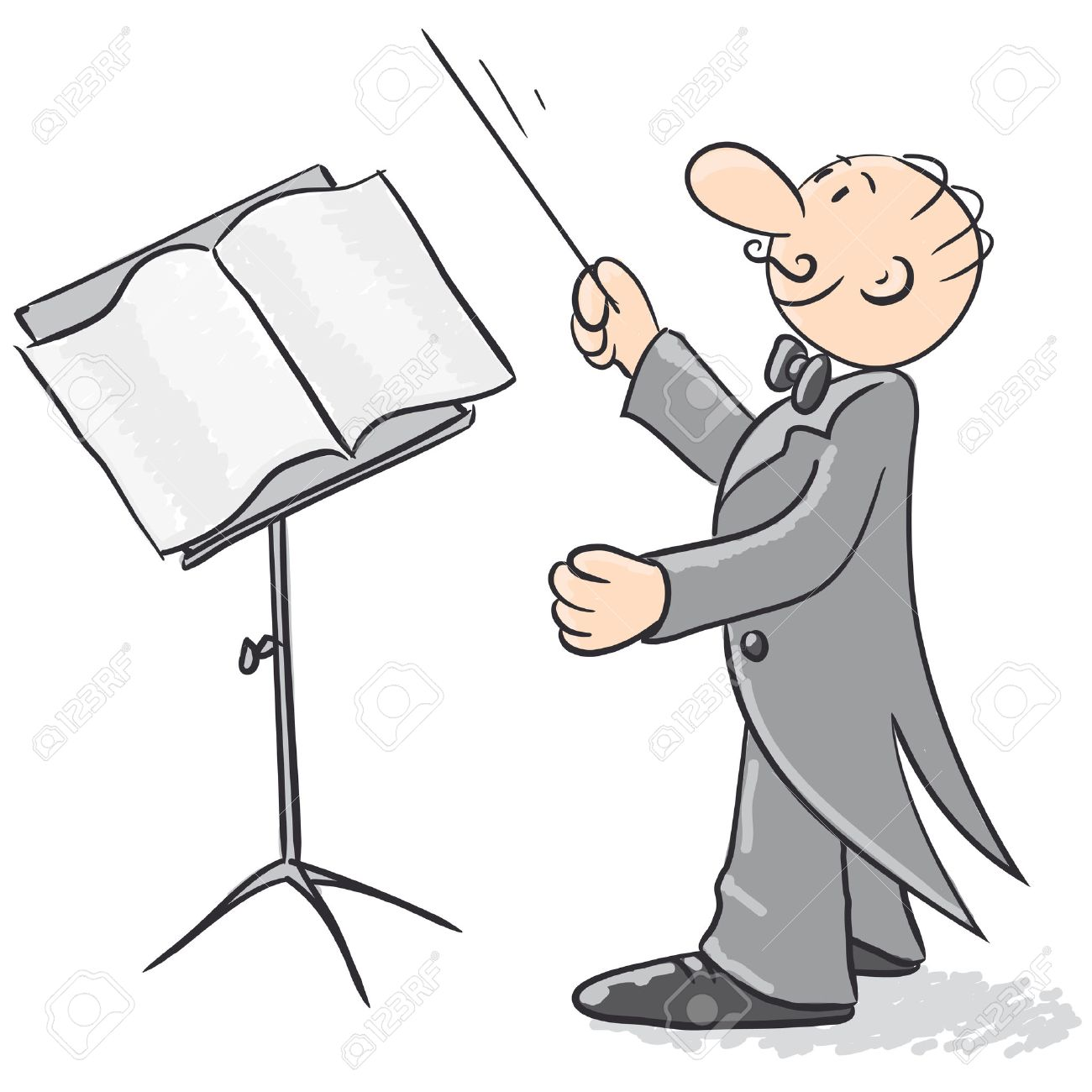 1,193 Music Conductor Cliparts, Stock Vector And Royalty Free ...