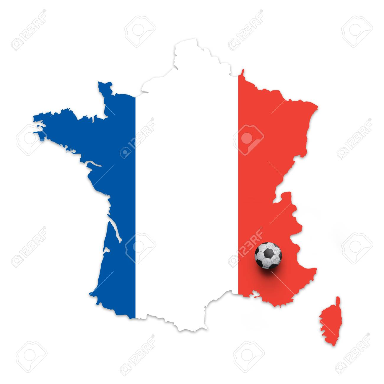 France Map Flag.Previews 123rf Com Images Robsonphoto Robsonphoto1