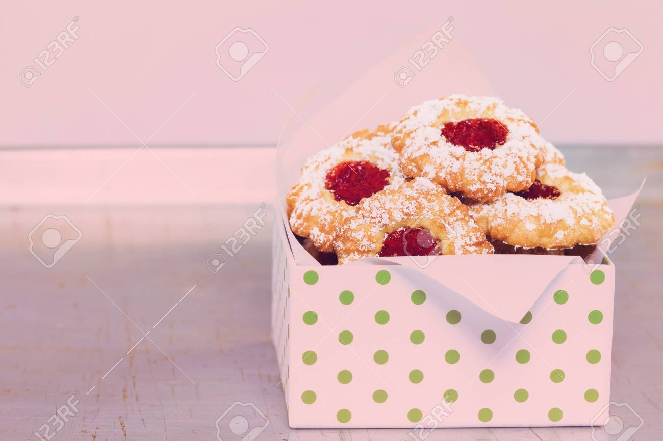 Boîte Biscuit Noël Nostalgie Cadeau Boîte