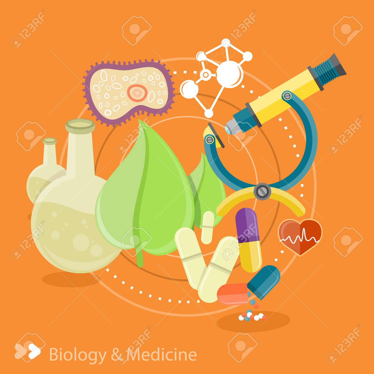 Biología Y La Medicina. Ciencia Y Tecnología Conceptos. Espacio De ...