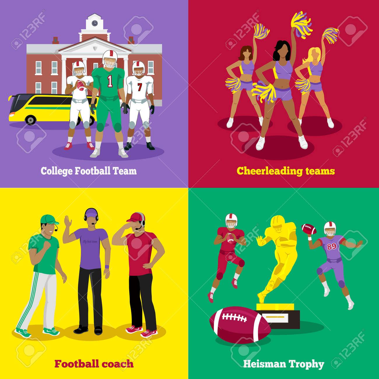 american football trophy football coach and team cheerleading