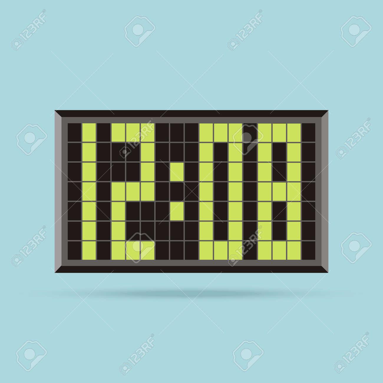 8378ecaf8f9f Reloj Aislado Icono Del Logotipo. Mira Objeto
